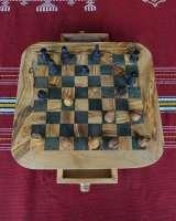 Echiquier Fini - T3 carré noir 3 cm